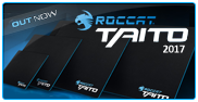 Roccat Taito 2017 Gaming Mousepads