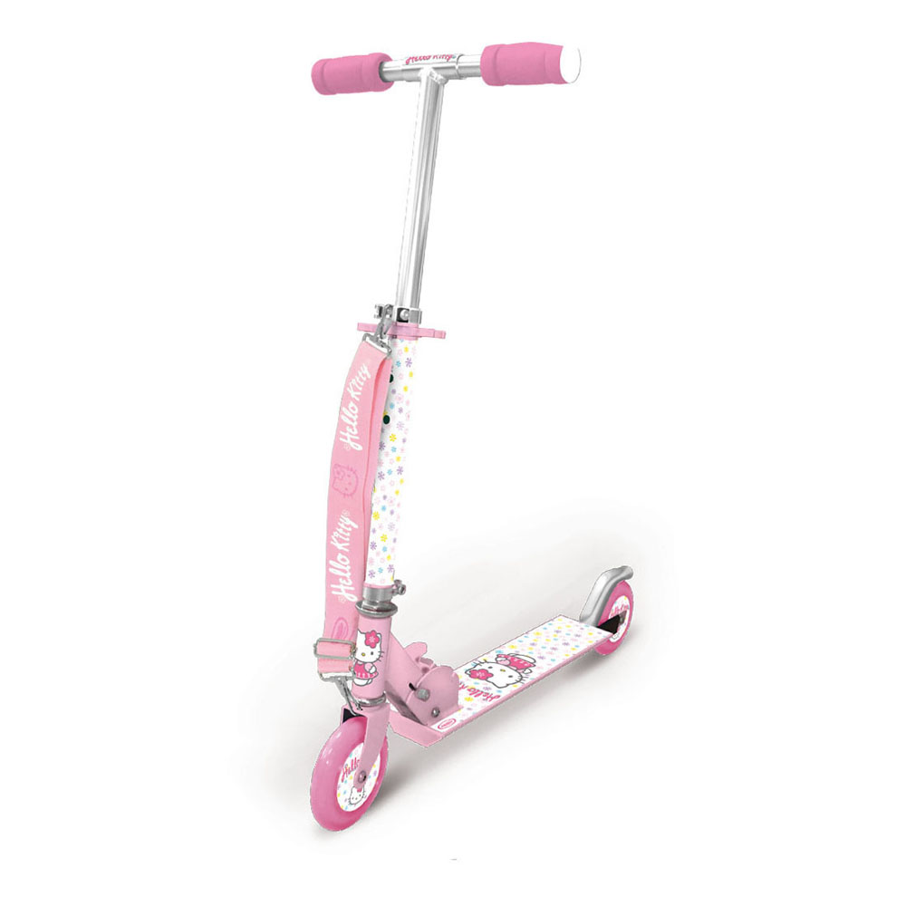 HELLO KITTY Two Wheel Scooter with Strap (OHKY106)