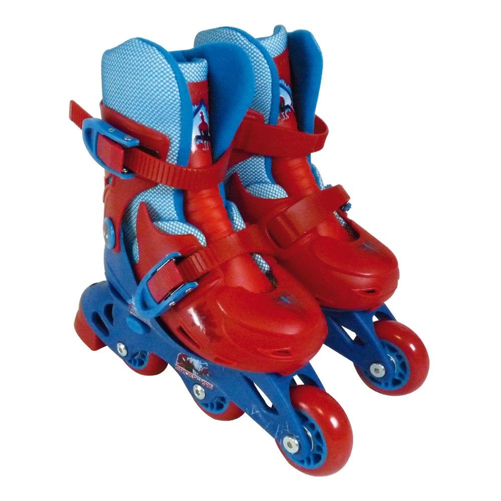 MARVEL COMICS Spider-Man Evolution 2-in-1 Tri to Inline Roller Skates, 27-30 (OPSI084)