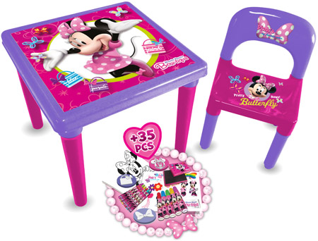Disney Minnie Mouse Bow Tique My First Activity Table And