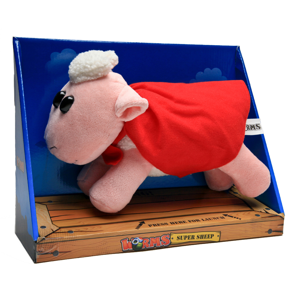 WORMS Super Sheep Plush Toy with Soundchip (GE3000)