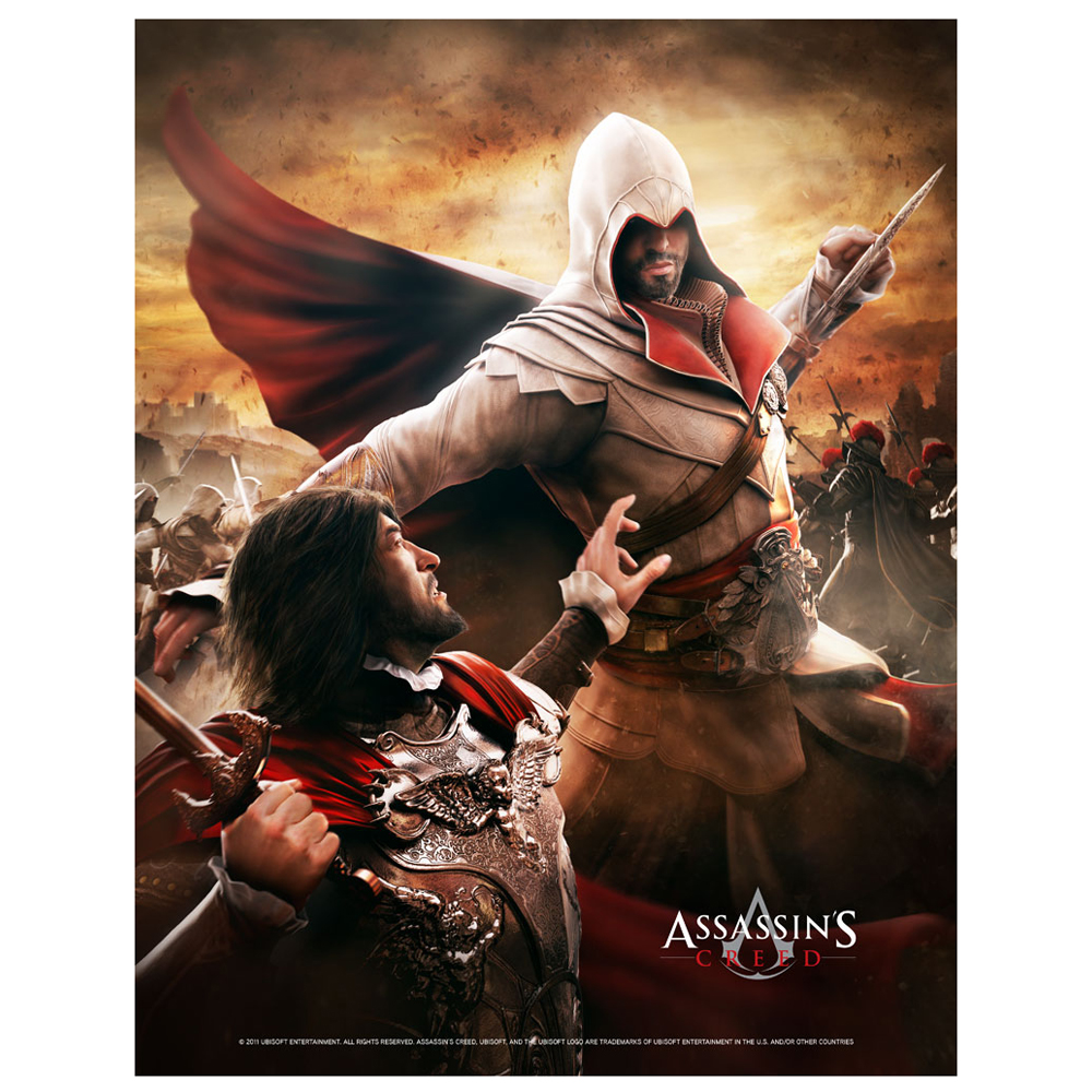 ASSASSIN'S CREED Wallscroll, Death From Above (GE2010)
