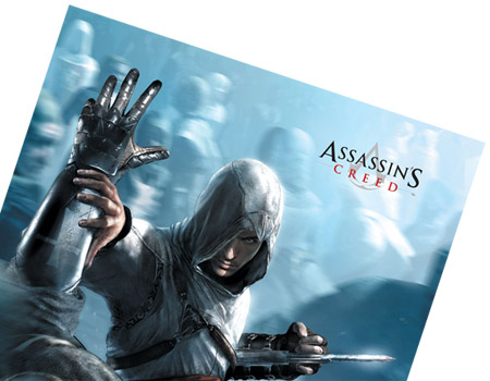 ASSASSIN'S CREED Out Of My Way Wallscroll (GE2011)