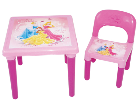 Disney Princess My First Activity Table And Chair Set With  sc 1 st  Castrophotos & Disney Princess Activity Table And Chair Set - Castrophotos