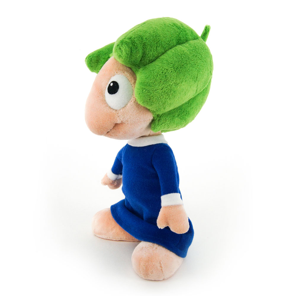 LEMMINGS 22cm 'Oh No' Lemming Plush with Sound Effect, Multi-Colour