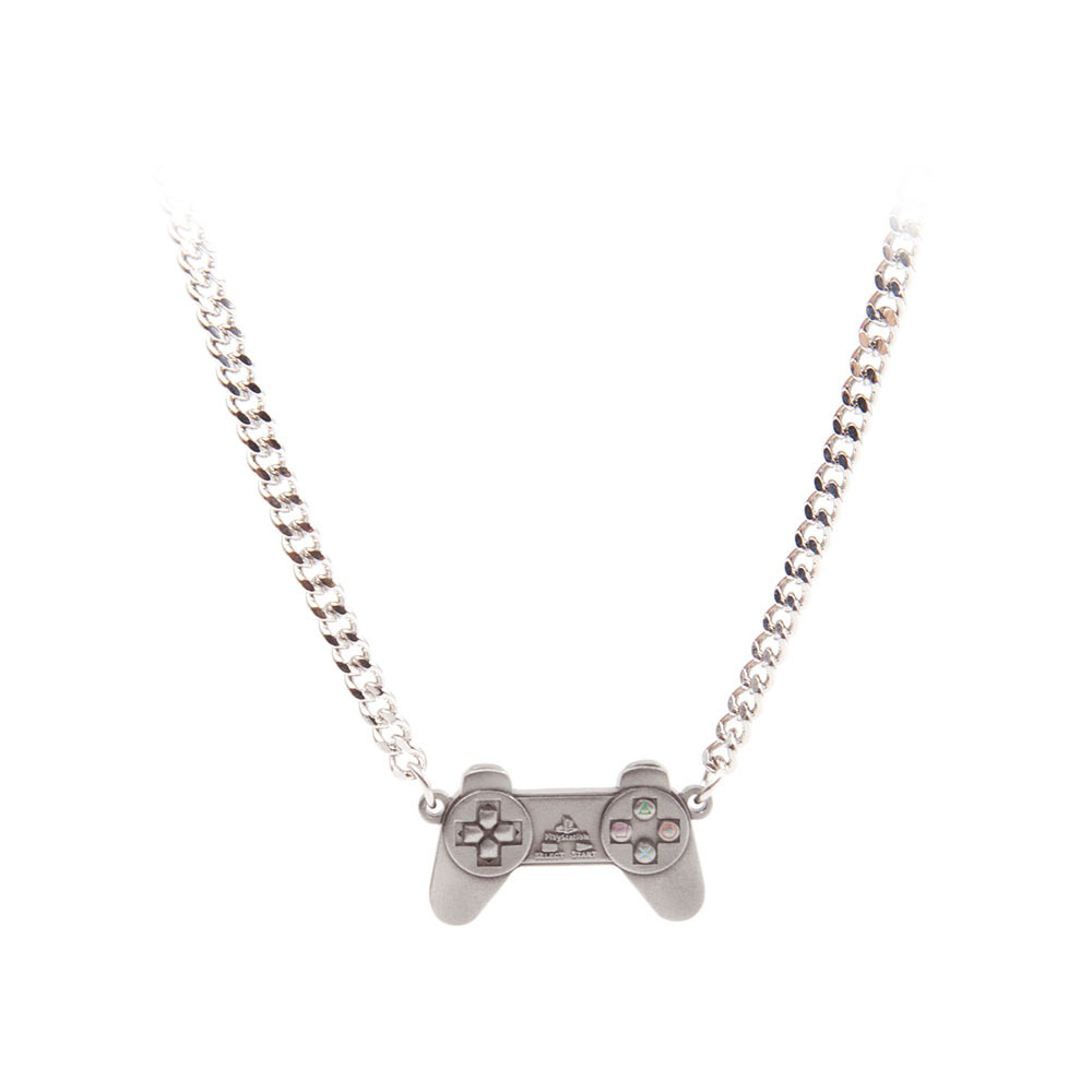 Sony playstation controller necklace one size silvermetal sony playstation controller necklace one size silvermetal je150323sny aloadofball Choice Image