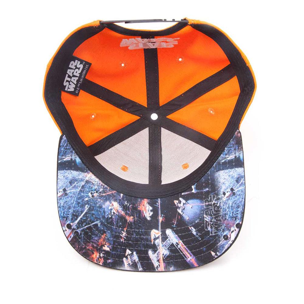 7e832d97d7ddd ... discount star wars resistance logo embroidered patch snapback baseball  cap one size orange black 8af30 f4983 ...