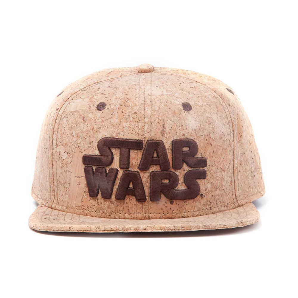 Logo Cork Snackback Baseball Cap, Beige, One Size Star Wars