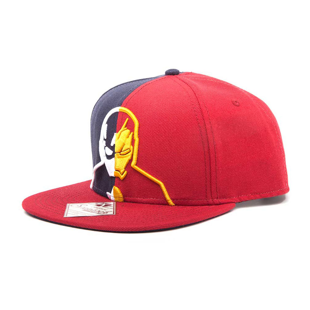5369a0bf6dc Iron Man Silhouette Snapback Baseball MARVEL COMICS Captain America  Civil  War Captain America vs. Iron Man Silhouette Snapback Baseball ...