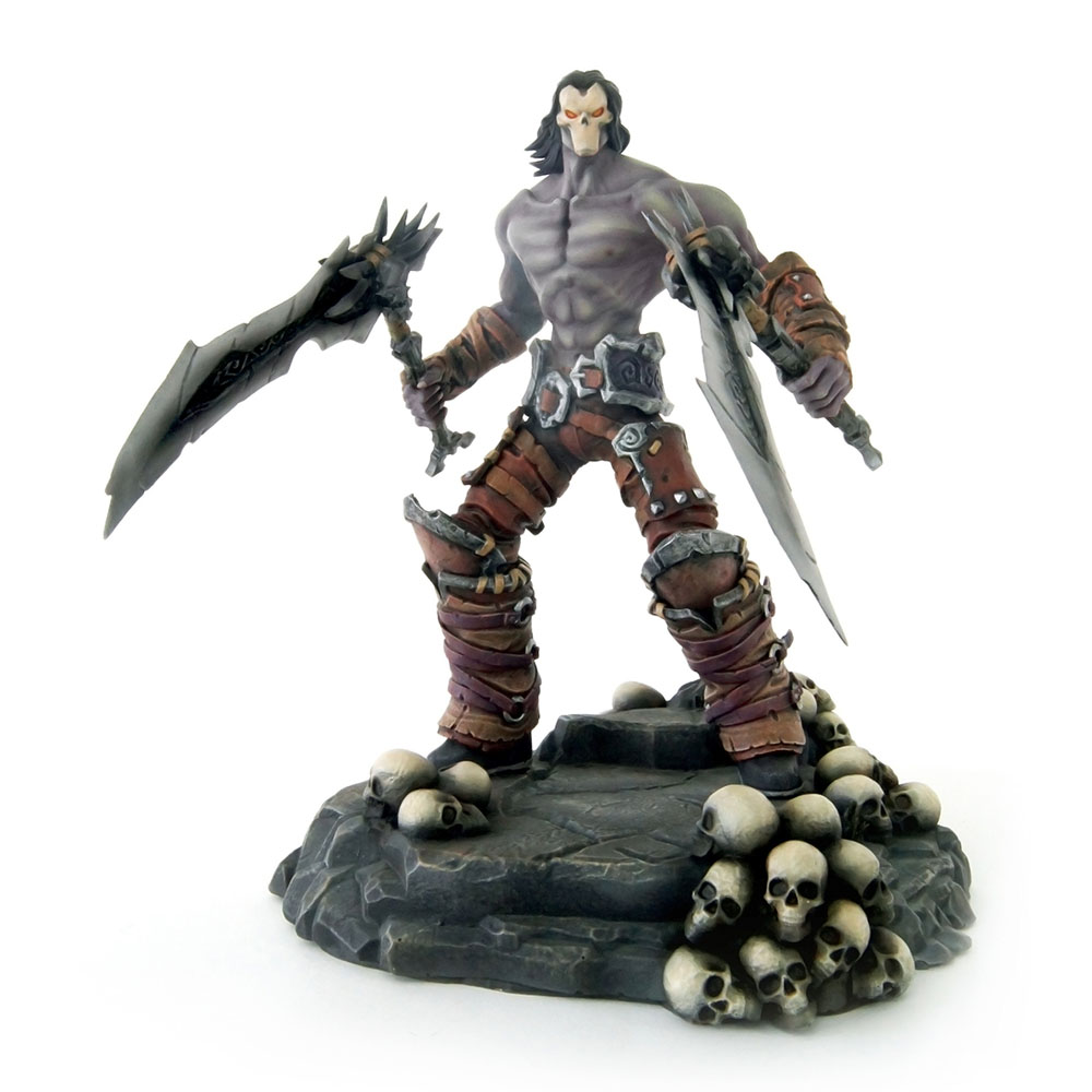 DARKSIDERS 2 Collector's 26cm Death Character PVC Statue, One Size, Multi-Colour (GE2310)
