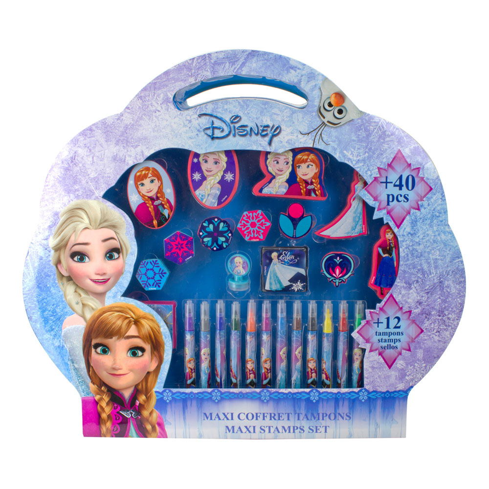 DISNEY Frozen Maxi Stamps Set, 49pcs (CFRO136)