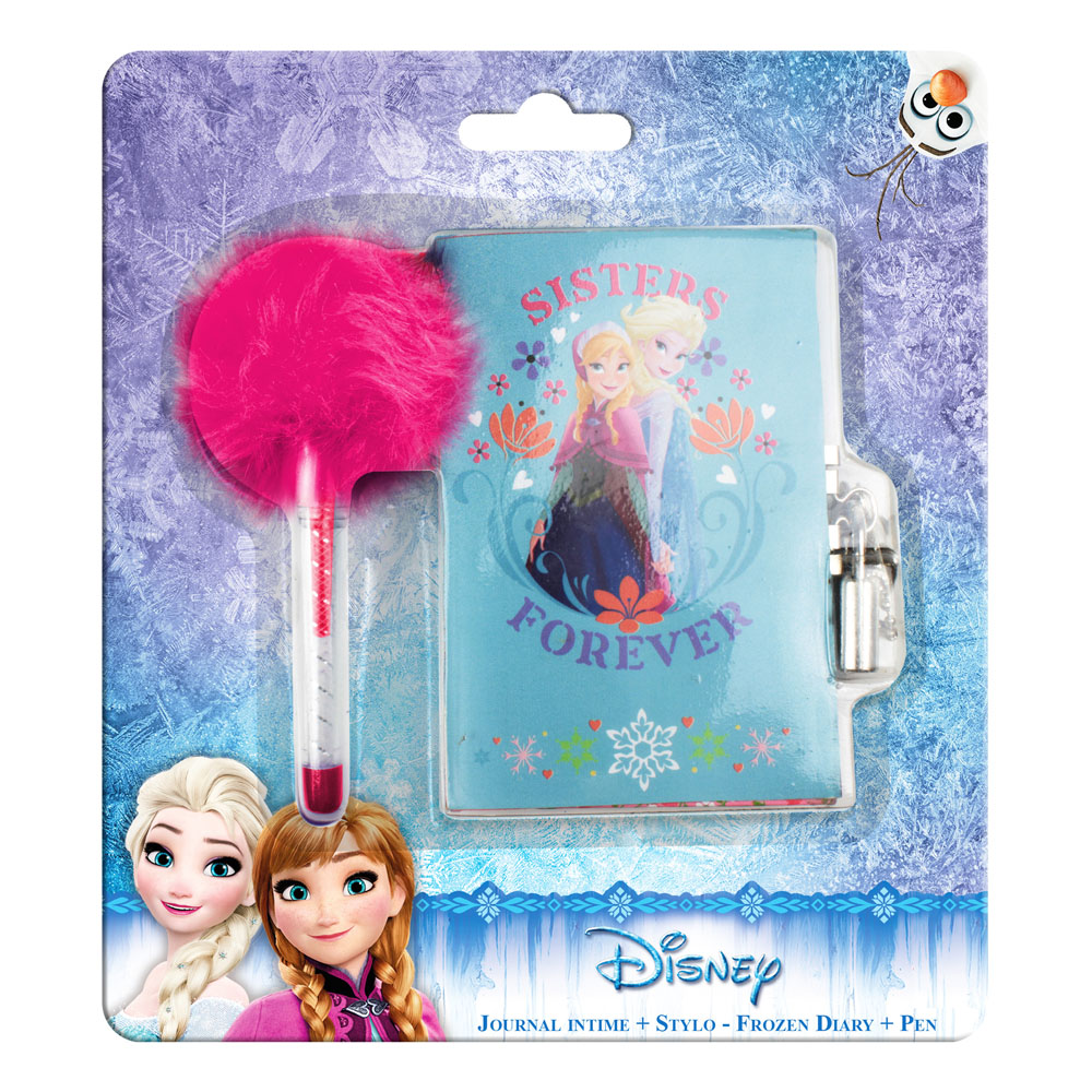 DISNEY Frozen 'Sisters Forever' Journal Diary & Pen (CFRO077)