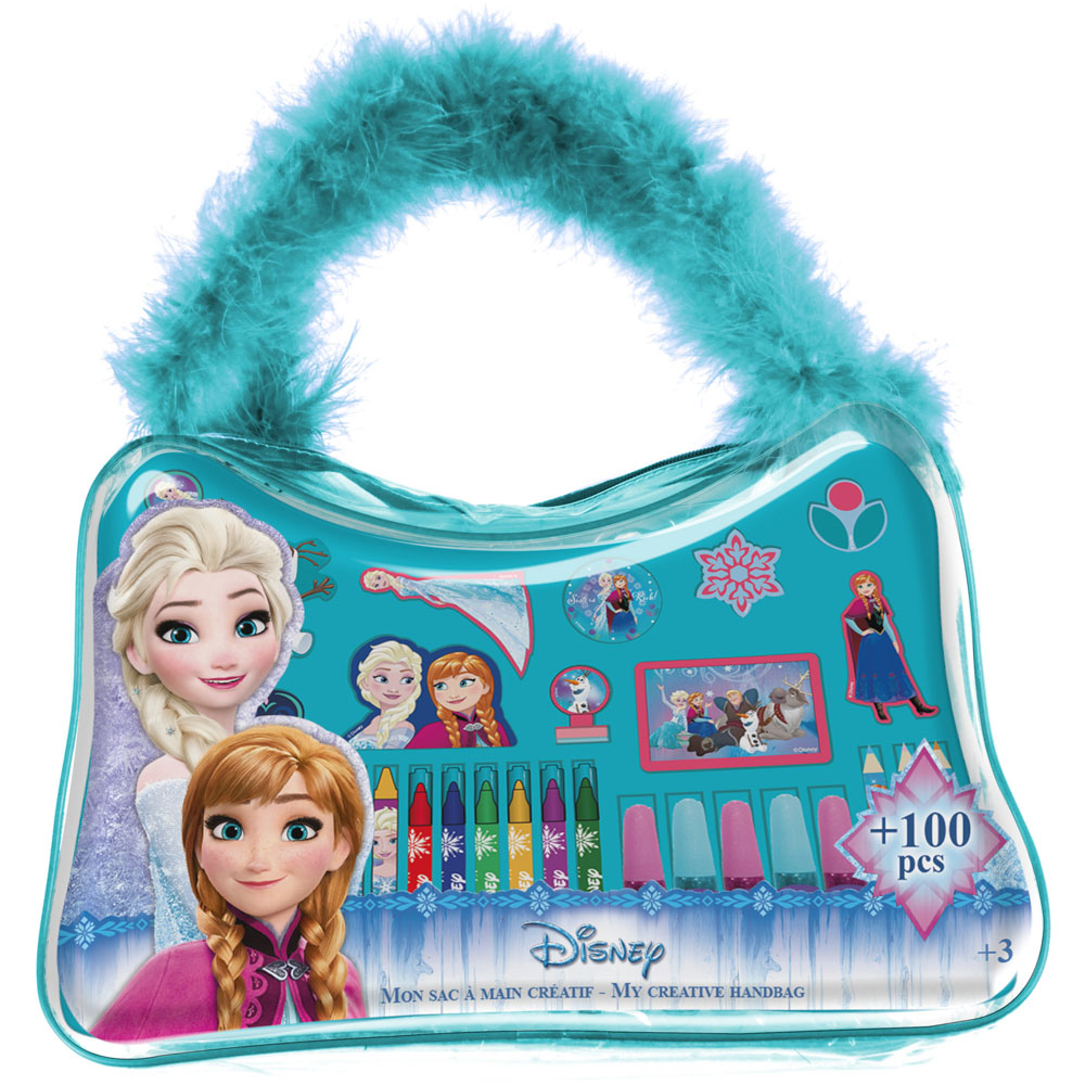 DISNEY Frozen My Creative Handbag with 100pc Creative Accessories Kit (CFRO037)
