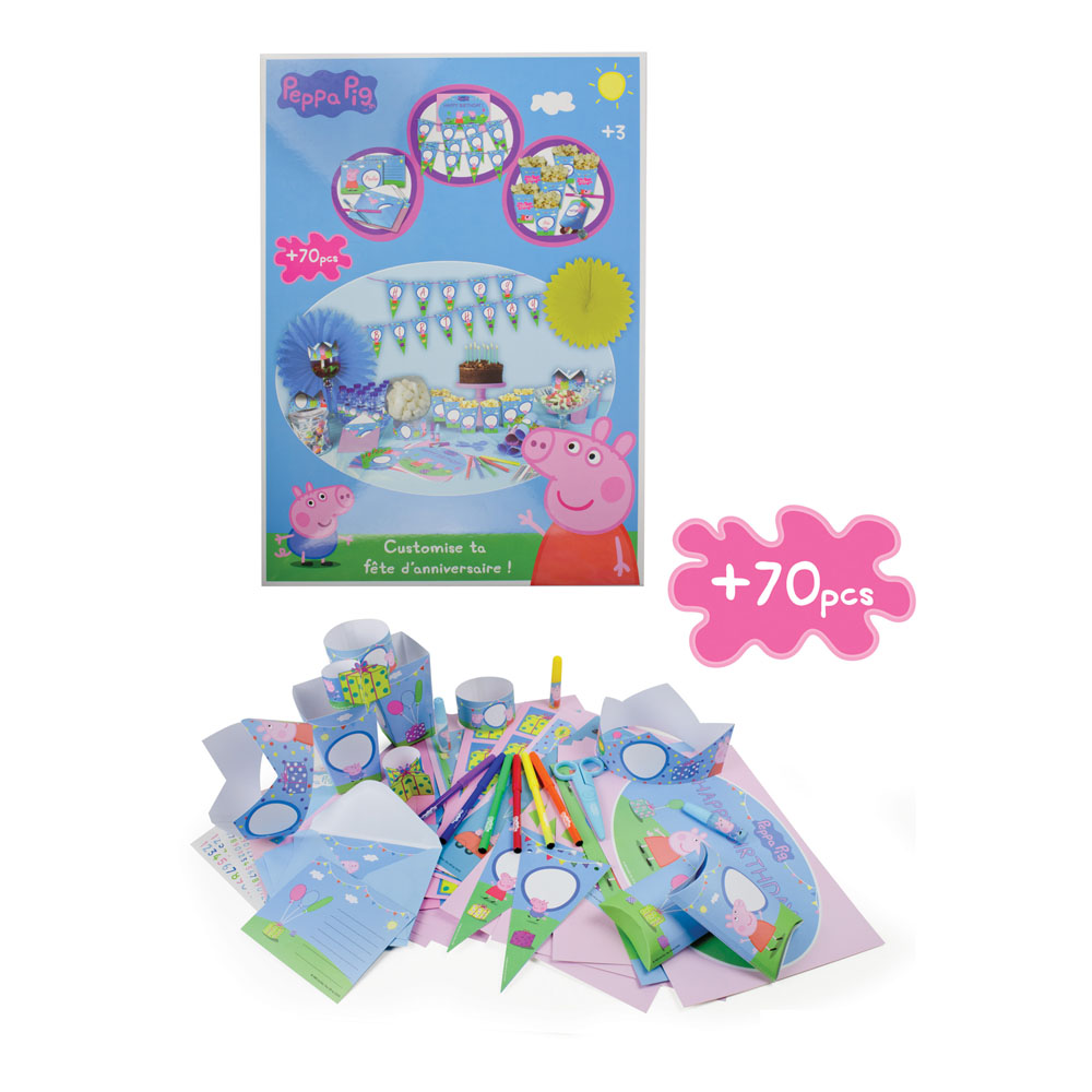 PEPPA PIG Customize Your Birthday Party (CPEP082)