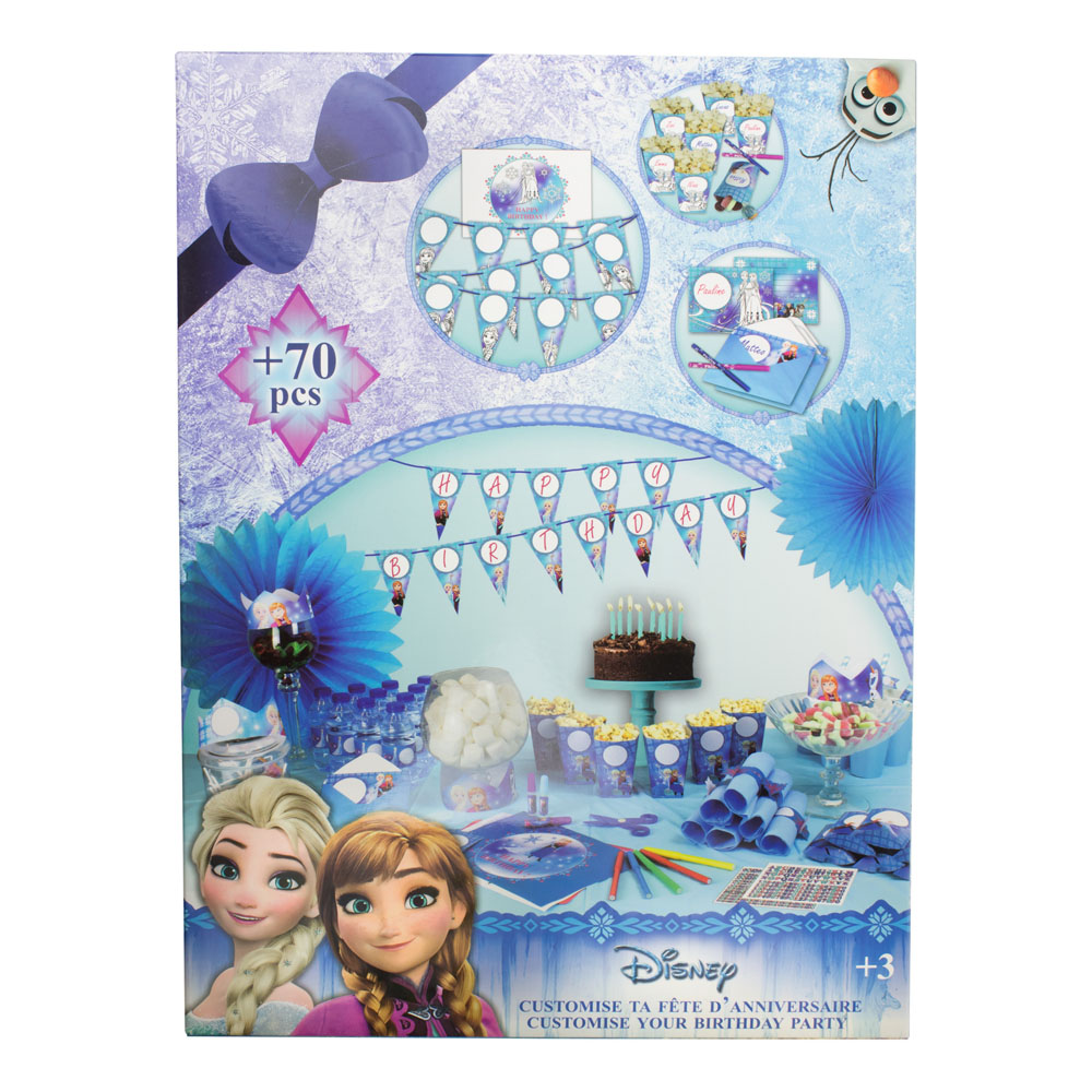 DISNEY Frozen Customize Your Birthday Party (CFRO094)