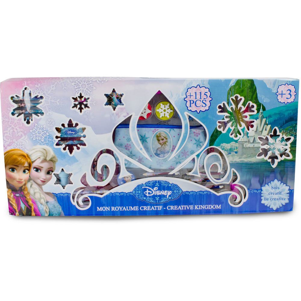 DISNEY Frozen My Creative Realm with 118pc Creative Accessories Kit (CFRO057)