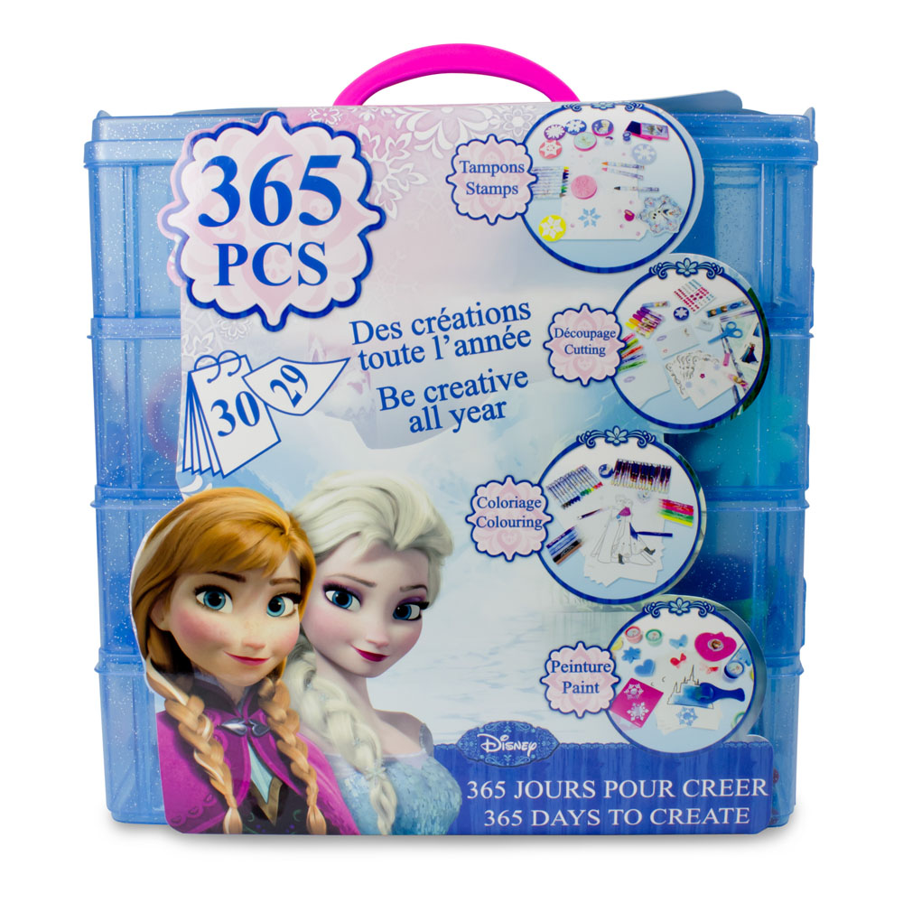 DISNEY Frozen 365 Days to Create with 365pc Creative Accessories Kit (CFRO165)