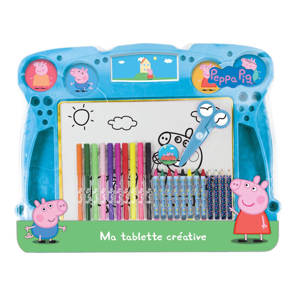 PEPPA PIG My Creative Pad with 34pc Creative Accessories Kit (CPEP110)