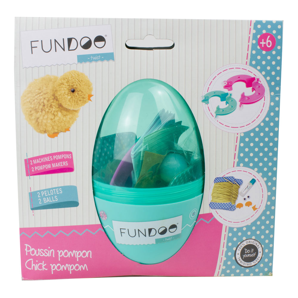 FUNDOO Twist Chick Pompom (CFUN080)
