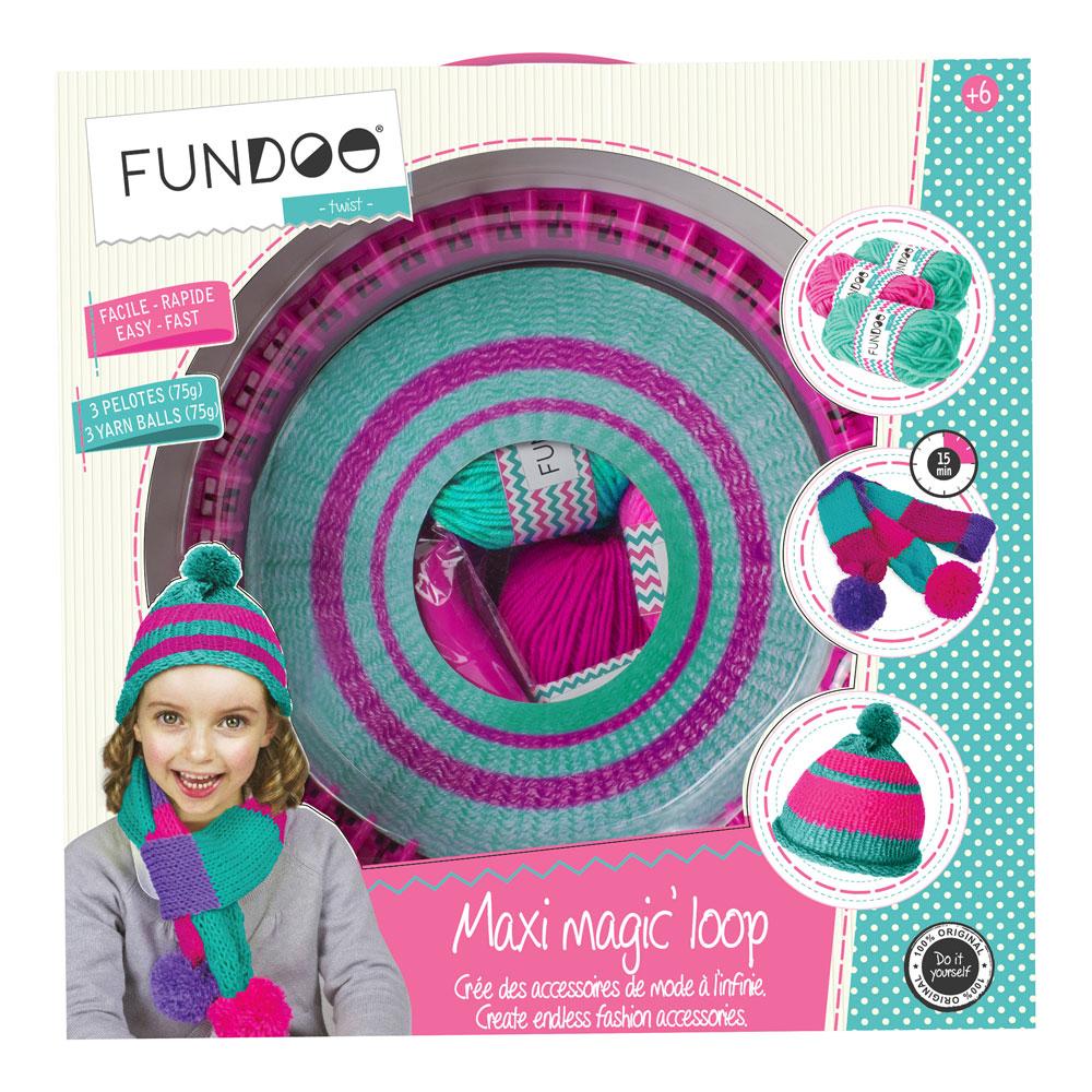 FUNDOO Twist Maxi Magic Loop Knitting Machine (CFUN071)