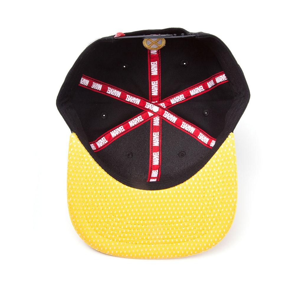3b850741079 ... MARVEL COMICS X-Men Wolverine Mask Snapback Baseball Cap