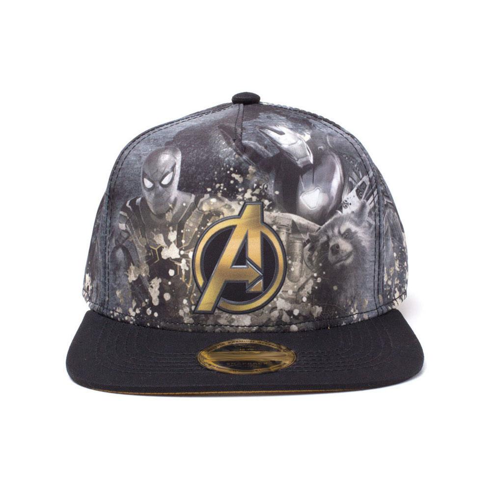 6f14c5fab49 MARVEL COMICS Avengers Infinity War Heroes All-over Print Snapback Baseball  Cap