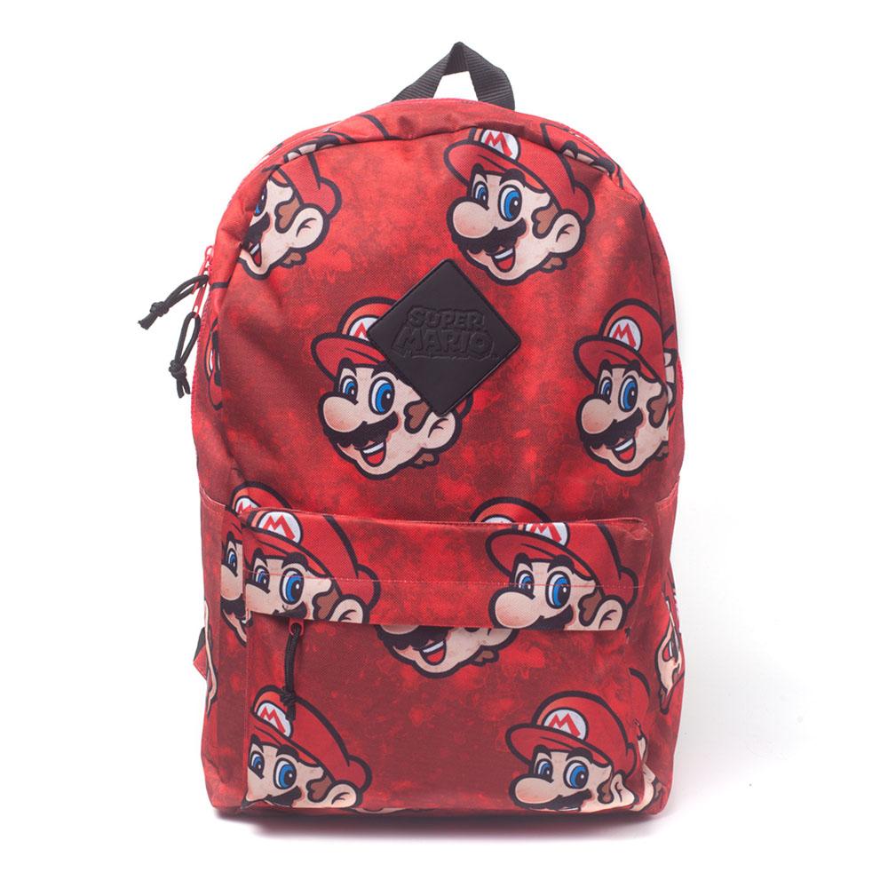 1d06219d0b6e NINTENDO Super Mario Bros. Mario Sublimation Backpack