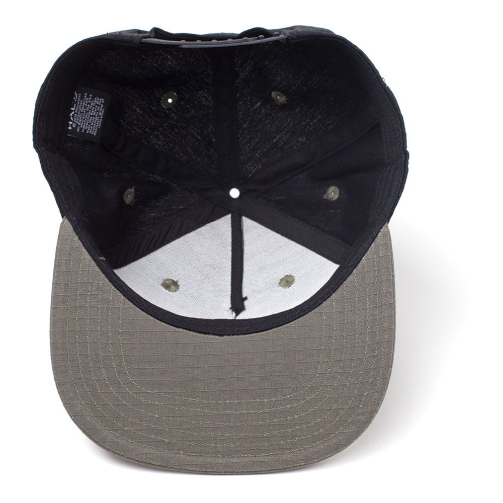 f4957256e0d2d ... HALO UNSC Logo Print with 2D Badge Embroidered Patch Snapback Baseball  Cap