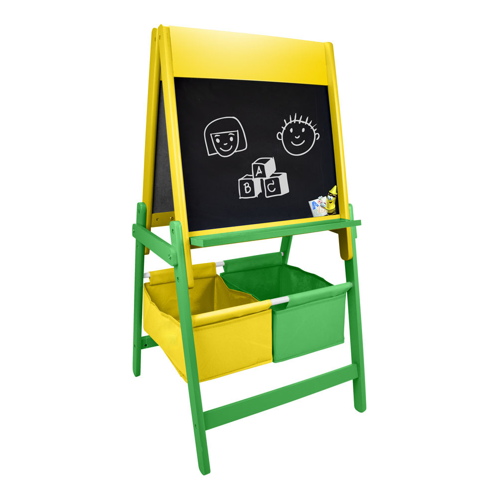 Crayola Double Sided Childrens Wooden Art Easel With Creative