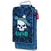SOX Denim Life Style Mobile Phone Bag for iPhone/Samsung and more, Death Rock (SOX KDS 08)