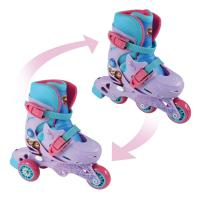 DISNEY Frozen Evolution 2-in-1 Tri to Inline Roller Skates, 27-30 (OFRO084)
