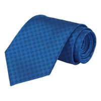 PAYDAY 2 $2 Logo Pattern Real Silk Tie, Blue (GE2167)