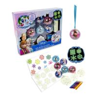 DISNEY Frozen Create Your Christmas Baubles with 110pc Creative Accessory Kit (CFRO009)