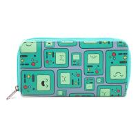 ADVENTURE TIME Beemo BMO Video Games Console All-Over Pattern Purse Wallet, Female, Multi-Colour (GW1PNMADV)