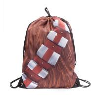 STAR WARS Chewbacca Bandolier Gymbag, One Size, Multi-Colour (CI080434STW)