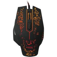APPROX APPFORCE 2400dpi Optical Illuminated Gaming Mouse, USB, Black (APPFORCE)