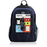 APPROX APPNBBUNDLES4 15.6 Inch Laptop Backpack & USB Optical PC Mouse Set (APPNBBUNDLES4)