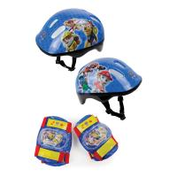 PAW PATROL Children's Helmet, Knee Pads & Elbow Pads Protection Pack, Unisex, Multi-colour (OPAW204)