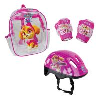 PAW PATROL Skye Helmet, Knee Pads, Elbow Pads & Bag Protection Pack (OPAW004-F)