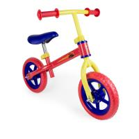 BLAZE AND THE MONSTER MACHINES Kid's Metal Balance Bike with 10-inch Flat-free EVA Tires and Adjustable Seat/Handlebar, Multi-colour (OBMM043)