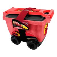 DISNEY Cars 3 My Creative Trolley with Creative Accessories Set, Red (CDIC148)