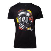 MARVEL COMICS Ant-Man and the Wasp Male Ant-Man Head T-Shirt, Male, Small, Black (TS777205ANW-S)