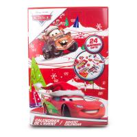 DISNEY Cars Christmas Advent Calendar with 24 Surprises (CDIC086)