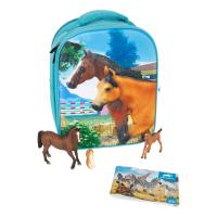 ANIMAL PLANET Mojo Farmland 3D Backpack Playset, Unisex, Three Years and Above, Multi-colour (387724)